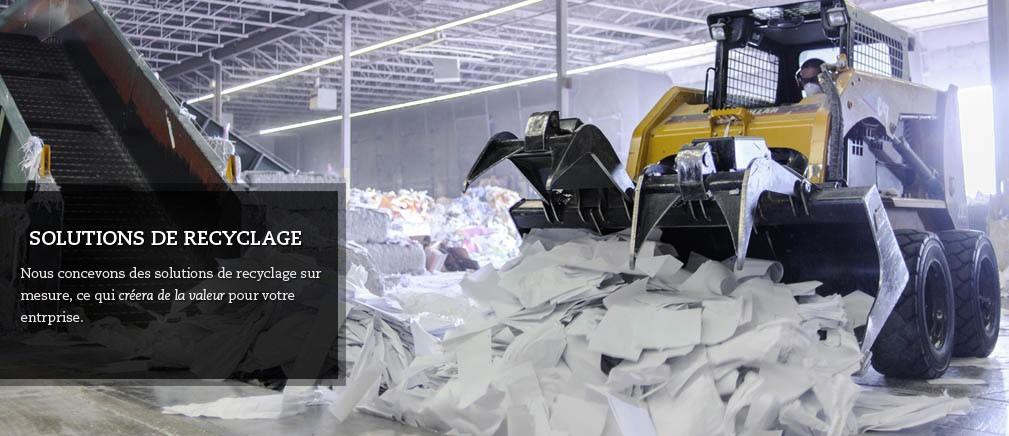 Solutions de recyclage